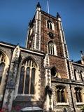 La cattedrale di St Albans ? il pi? vecchio sito di culto cristiano continuo in Gran-Bretagna Controlla il posto in cui Alban fotografia stock libera da diritti