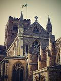 La cattedrale di St Albans ? il pi? vecchio sito di culto cristiano continuo in Gran-Bretagna Controlla il posto in cui Alban immagini stock libere da diritti