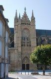 La cattedrale di St Etienne a Limoges Immagine Stock Libera da Diritti