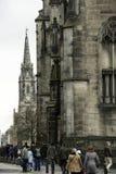 La cattedrale di St Giles, alto Kirk di Edimburgo, chiesa della Scozia Fotografia Stock Libera da Diritti