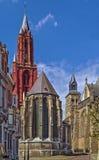 La cattedrale di St John, Maastricht Immagine Stock