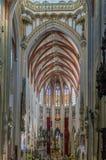 La cattedrale di St John, s-Hertogenbosch, Paesi Bassi Immagine Stock
