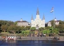 La cattedrale di St Luke a New Orleans Fotografia Stock