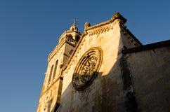 La cattedrale di St Mark in Korcula, Croazia Fotografia Stock