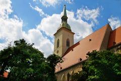 La cattedrale di St Martin Immagini Stock