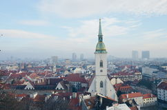 La cattedrale di St Martin, Bratislava Immagine Stock Libera da Diritti