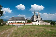 La cattedrale di St Martin, ¡ Kapitula, ské Podhradie dello skà del ¡ di SpiÅ del ¡ di SpiÅ Immagini Stock