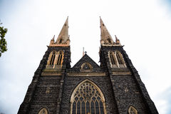 La cattedrale di St Patrick a Melbourne Australia4 Fotografie Stock Libere da Diritti