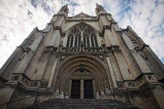 La cattedrale di St Paul, Dunedin, Nuova Zelanda fotografie stock