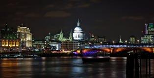 La cattedrale di St Paul, Londra, Inghilterra Fotografia Stock Libera da Diritti
