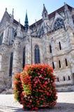 La cattedrale di St Peter, Regensburg, Germania Immagini Stock