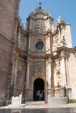 La cattedrale di Valencia. Immagine Stock Libera da Diritti