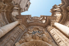 La cattedrale di Valencia. Immagini Stock Libere da Diritti