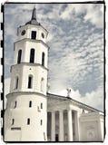 La cattedrale di Vilnius Immagini Stock Libere da Diritti