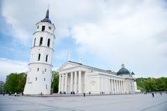 La cattedrale di Vilnius Fotografia Stock