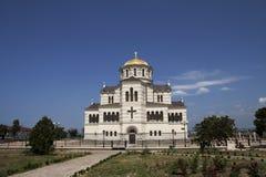 La cattedrale di Vladimir a Sevastopol Fotografia Stock Libera da Diritti