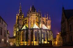 La cattedrale metropolitana dei san Vitus Fotografia Stock Libera da Diritti