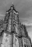 La cattedrale metropolitana dei san Vitus, Wenceslaus e Adalbert Fotografia Stock Libera da Diritti