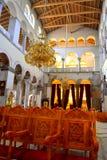 La cattedrale mette la Grecia a sedere Fotografie Stock
