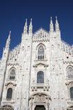 La cattedrale Milano Fotografie Stock Libere da Diritti