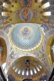 La cattedrale navale di San Nicola il Wonderworker - las costruiti Immagine Stock