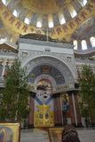 La cattedrale navale di San Nicola il Wonderworker - las costruiti Immagine Stock Libera da Diritti
