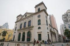 La cattedrale, o Catedral Igreja da Sé è una parte del centro storico Immagini Stock