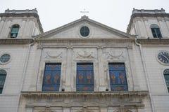 La cattedrale, o Catedral Igreja da Sé è una parte del centro storico Fotografia Stock