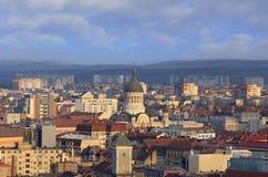 La cattedrale ortodossa Cluj Napoca, Romania Fotografie Stock