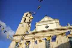 La cattedrale ortodossa di Chania, Creta Fotografia Stock