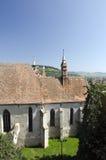 La cattedrale principale in Sighisoara, Romania Fotografia Stock Libera da Diritti