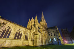 La cattedrale storica e bella di Chichester Immagine Stock Libera da Diritti