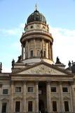 La cattedrale tedesca a Gendarmenmarkt - Berlino Fotografia Stock Libera da Diritti