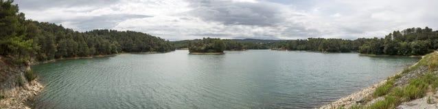 La Cavayere lake Royalty Free Stock Photography