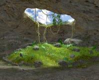 La caverna Immagini Stock
