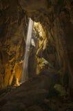 La caverna Fotografie Stock Libere da Diritti