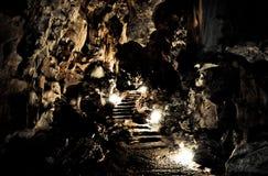 La caverna Fotografia Stock