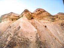 La caverna alloggia Cappadocia Immagini Stock