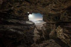 La caverna fotografie stock