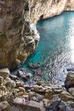 La caverna dei Turchi Immagine Stock