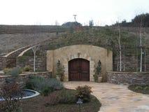 La caverna del vino Immagini Stock