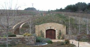 La caverna del vino Fotografia Stock