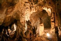 La caverna dell'orso, Romania fotografie stock libere da diritti