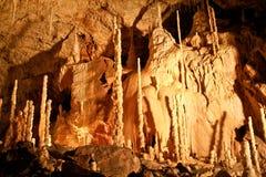 La caverna dell'orso, Romania Fotografia Stock Libera da Diritti
