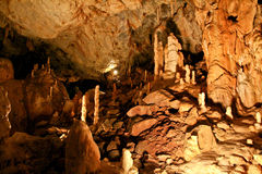 La caverna dell'orso, Romania Immagine Stock Libera da Diritti