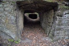 La caverna della roccia Fotografia Stock