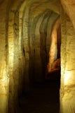 La caverna della sabbia Immagini Stock