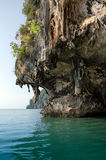 La caverna di James Bond Island, Phang Nga, Tailandia Fotografia Stock Libera da Diritti