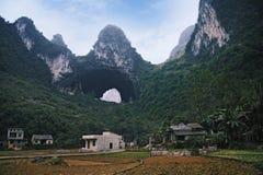 La caverna leggiadramente naturale Immagini Stock Libere da Diritti