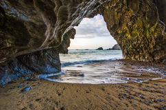 La caverne Photographie stock